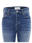 Mother 'the Scrapper Ankle' Jeans - Blue