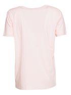Balmain Logo T-shirt - ROSA