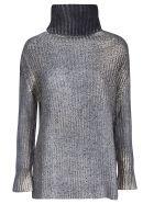 Avant Toi High Neck Sweater - Ice