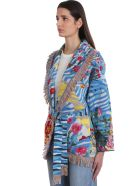 Alanui Cardigan In Multicolor Wool - multicolor