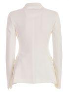 Tagliatore Single-breasted Blazer - White