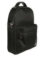 Christian Dior Logo Patch Shoulder Bag - Black
