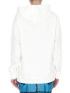 Moschino Logo Hoodie - White