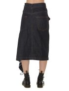 Sacai Denim Skirt - Multicolor