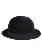 Anthony Peto Bowler Lapin Fur Felt Hat - BLACK