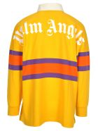 Palm Angels Palm Angels Colour Block Polo Shirt - YELLOW