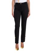 Versace Safety Pins Trousers - Nero