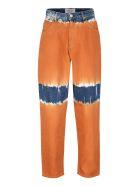 Alberta Ferretti Tie-dye Jeans - Orange