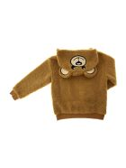 Moschino Hoodie Bear With Bag - Marrone