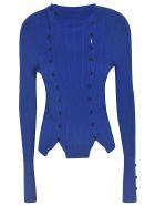 Jacquemus Slim-fit Buttoned Top - Blue