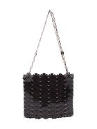 Paco Rabanne Pvc Shoulder Bag - Black