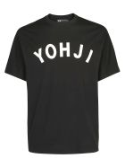 Y-3 Yohji Letterst-shirt - Black/off white