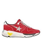 Golden Goose Running Sneaker - Red/silver