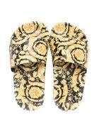 Versace Print Sandals - Oro