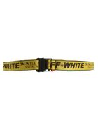 Off-White Off White Industrial Logo Belt - YELLOW