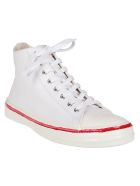 Marni White Leather Sneakers - White