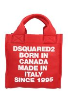 Dsquared2 'born In Canada' Bag - Red