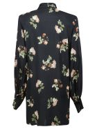Circus Hotel Floral Printed Dress - Black/Multicolor