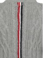 Thom Browne Cable Knit Sweater - Light grey