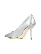 Jimmy Choo Decollete Heel 85 Shaded Fine Glitter - Multi  Multi