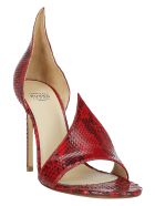 Francesco Russo Sandal Pumps - Red
