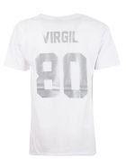 Les Artists Virgil Printed T-shirt - White Silver
