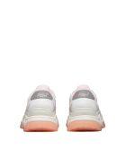 Ash Ridged Sole Sneakers - Bianco beige rosa