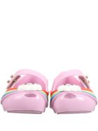 Melissa Lilac Ballerina Flats For Girl With Cloud - Violet