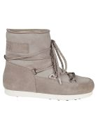 Moon Boot Logo Patch Boots - light grey