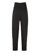 RED Valentino High-rise Trousers - black