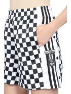 Adidas Originals Short - Nero/bianco