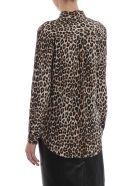 Equipment Leopard Print Shirt - Natural