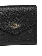 Coach Small Envelope Wallet - Nero