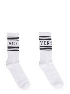 Versace Versace 90's Vintage Cotton Socks - White