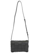 Bottega Veneta Shoulder Bag - Nero/silver