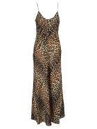 Ganni Ganni Leopard Print Slip Dress - LEOPARD PRINT
