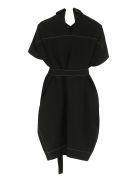 Marni Belted Waist Dress - black
