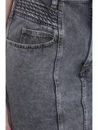 Isabel Marant Étoile Hondo Skirt In Grey Denim - grey