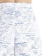 Kenzo 'wave Mermaid' Shorts - Multicolor