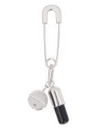 AMBUSH Pill Charm Earring - silver