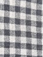 A Punto B Checked Scarf - Chalk/Anthracite