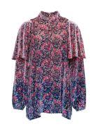 Philosophy di Lorenzo Serafini Floral Shirt In Viscose Blend - Multicolor