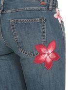 Alanui Hawaiian Flowers Jeans - FLARED HONOLULU W