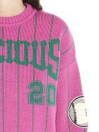 Nervure 'precious' Sweater - Fuchsia