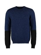 Prada Wool And Cashmere Sweater - blue