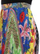 Versace Acid Bloom Printed Skirt - Multicolor