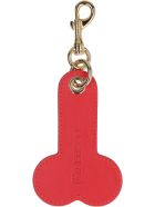 J.W. Anderson Two-tone Leather Keyring - Multicolor