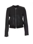 Bully Leather Jacket - Black