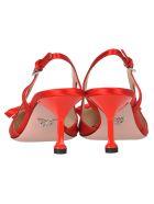 Prada Prada Satin Slingbacks - RED