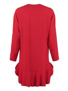 RED Valentino Crepe Cady Dress - red